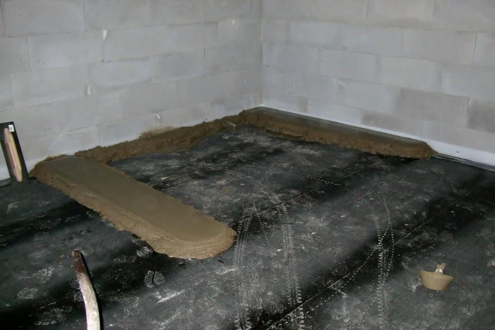 Jak vybetonovat podlahu